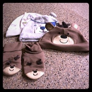 Other - New Baby Infant Hat Bundle